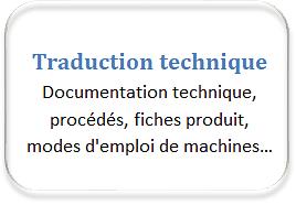 traduction technique français