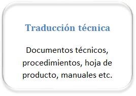 traductor técnico francés