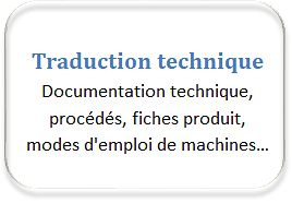 traduction technique français